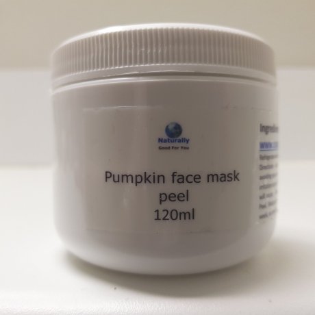 15% glycolic acid pumpkin enzyme face mask peel with brush